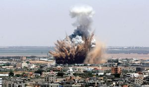 Bombing-of-Gaza-on-Friday