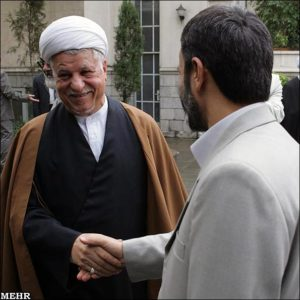 rafsanjani-and-ahmadinejad
