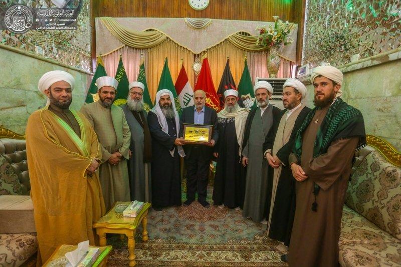 Maula Ali Shrine Wallpaper: Iraqi Turkmen Scholars Visit Imam Ali Holy Shrine