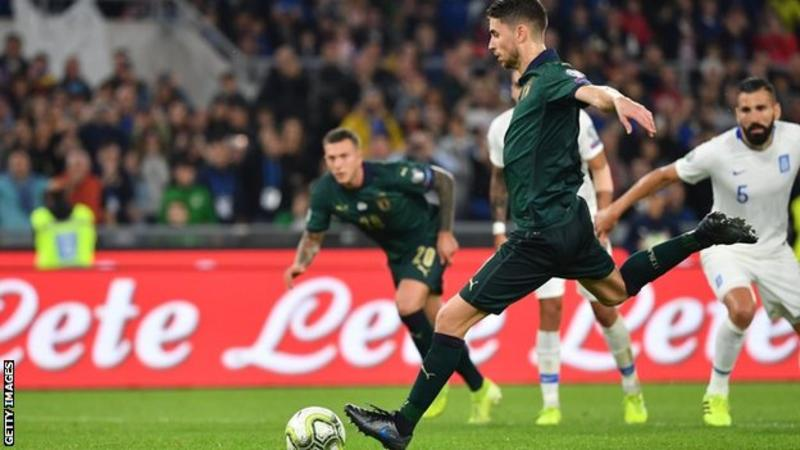 Italy Seal Qualification For Euro 2020 Home Page