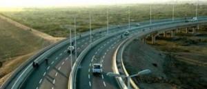 Motorway-road