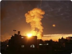 israel air attack